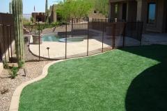 Desert-bronze-see-through-safety-fence